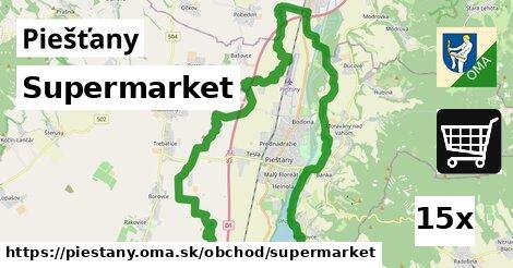 supermarket v Piešťany