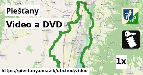 video a DVD v Piešťany