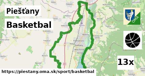 basketbal v Piešťany