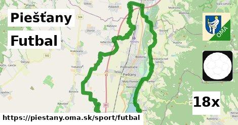 futbal v Piešťany