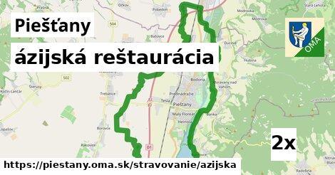 ázijská reštaurácia v Piešťany
