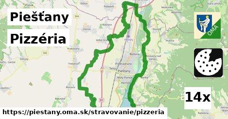 ilustračný obrázok k Pizzéria, Piešťany