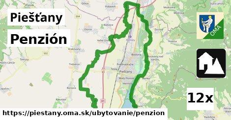 penzión v Piešťany