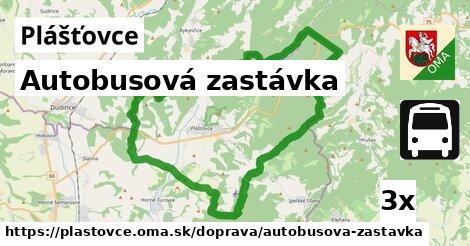 ilustračný obrázok k Autobusová zastávka, Plášťovce