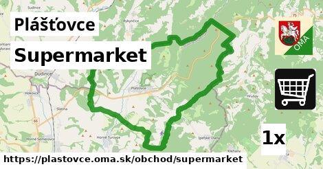 ilustračný obrázok k Supermarket, Plášťovce