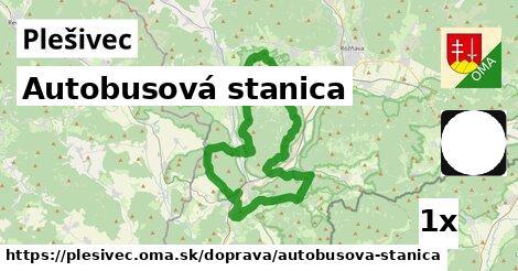 autobusová stanica v Plešivec