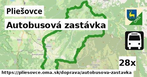 ilustračný obrázok k Autobusová zastávka, Pliešovce