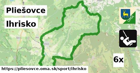 ihrisko v Pliešovce