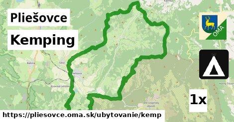 kemping v Pliešovce