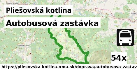 ilustračný obrázok k Autobusová zastávka, Pliešovská kotlina