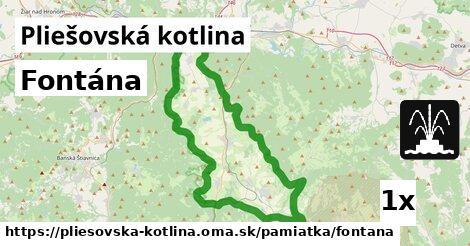 ilustračný obrázok k Fontána, Pliešovská kotlina