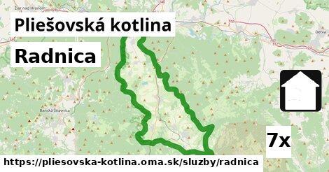ilustračný obrázok k Radnica, Pliešovská kotlina