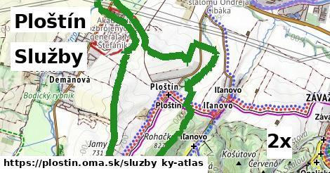 služby v Ploštín