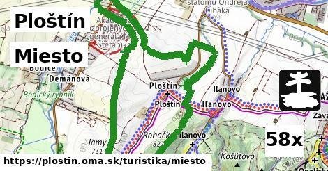 miesto v Ploštín