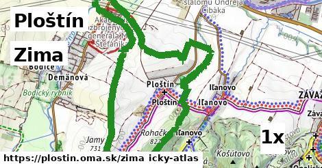 zima v Ploštín