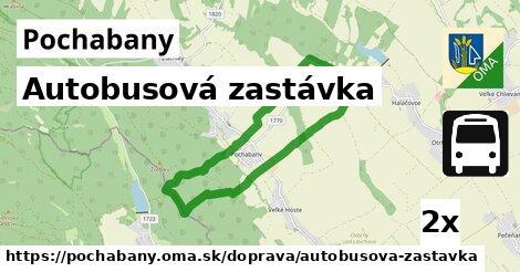 ilustračný obrázok k Autobusová zastávka, Pochabany