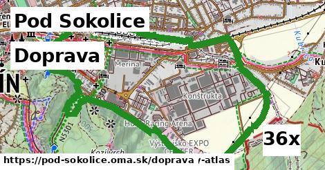 doprava v Pod Sokolice