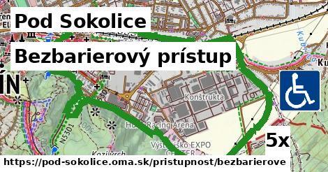 bezbarierový prístup v Pod Sokolice