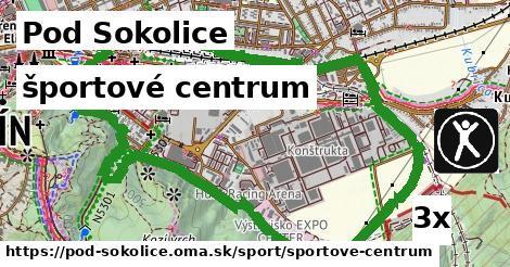 športové centrum v Pod Sokolice