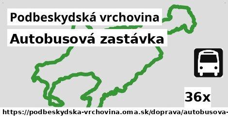 ilustračný obrázok k Autobusová zastávka, Podbeskydská vrchovina