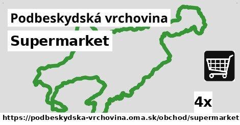 ilustračný obrázok k Supermarket, Podbeskydská vrchovina