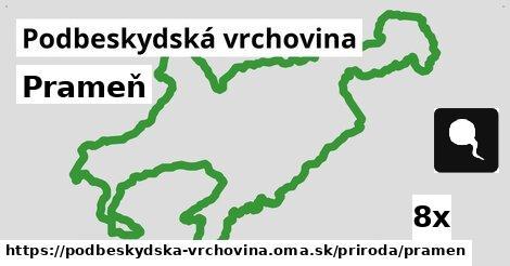 ilustračný obrázok k Prameň, Podbeskydská vrchovina