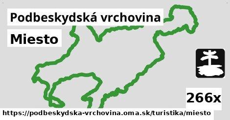 ilustračný obrázok k Miesto, Podbeskydská vrchovina
