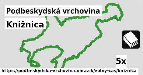 ilustračný obrázok k Knižnica, Podbeskydská vrchovina