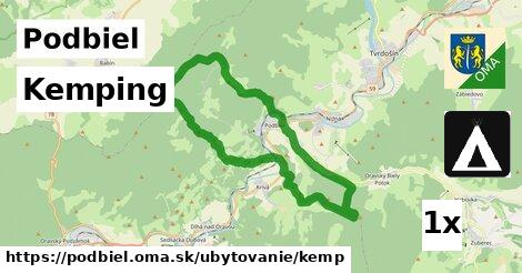 kemping v Podbiel