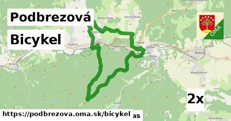 bicykel v Podbrezová