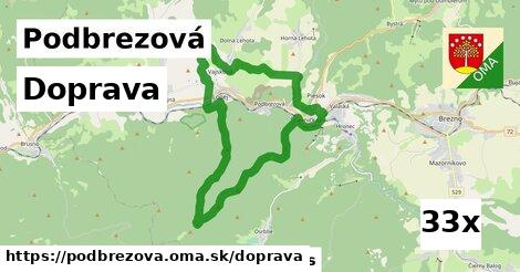 doprava v Podbrezová