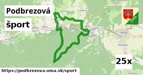šport v Podbrezová