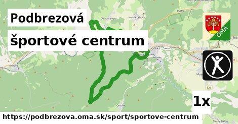 športové centrum v Podbrezová
