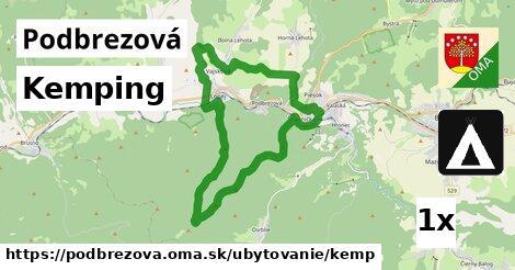 kemping v Podbrezová