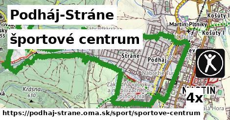 športové centrum v Podháj-Stráne