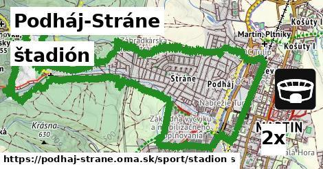 štadión v Podháj-Stráne