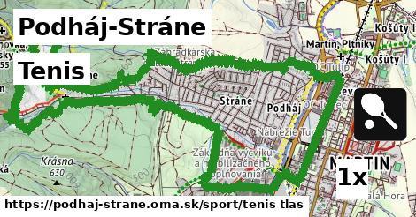 tenis v Podháj-Stráne