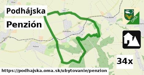 penzión v Podhájska