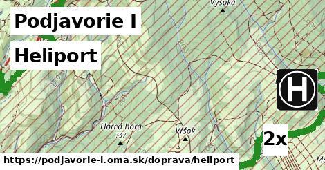 heliport v Podjavorie I