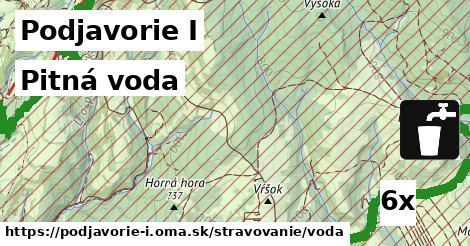 pitná voda v Podjavorie I
