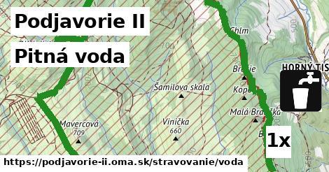 pitná voda v Podjavorie II