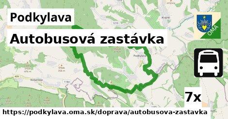 ilustračný obrázok k Autobusová zastávka, Podkylava