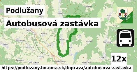 ilustračný obrázok k Autobusová zastávka, Podlužany, okres BN