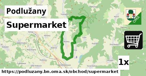 ilustračný obrázok k Supermarket, Podlužany, okres BN