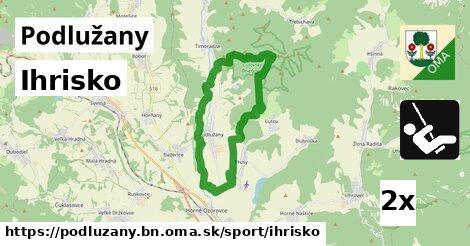 ilustračný obrázok k Ihrisko, Podlužany, okres BN