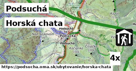 horská chata v Podsuchá