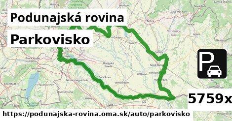 ilustračný obrázok k Parkovisko, Podunajská rovina