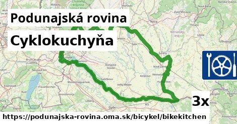 ilustračný obrázok k Cyklokuchyňa, Podunajská rovina