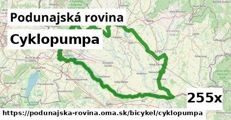 ilustračný obrázok k Cyklopumpa, Podunajská rovina