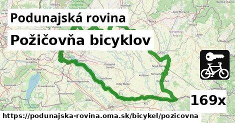 ilustračný obrázok k Požičovňa bicyklov, Podunajská rovina